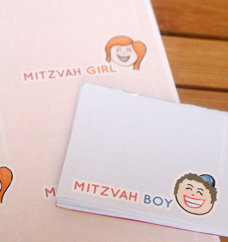 These free printable mitzvah notes are the perfect printable for the Jewish mom to make life easier! This Jewish parenting printable is available for free - and you can turn it into a DIY notepad too!