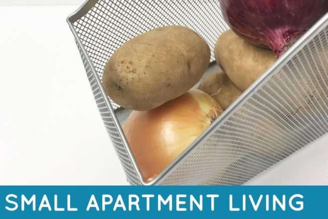 Check out these tips for organizing in small apartments. Small apartments can get messy quickly; these ideas will help you get organized in no time!