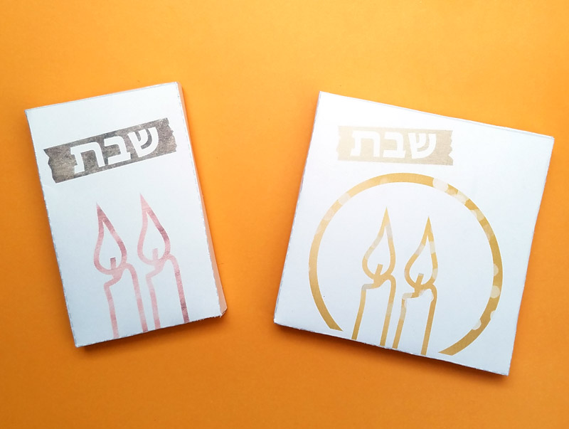 Print and assemble these light switch covers - they're perfect for Shabbos or Jewish Holidays! Remind yourself not to turn on or off the lights on the Chagim and Yom Tov and of course on Shabbat.