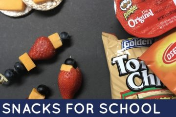 Need new ideas for snacks for school? Check out this awesome, comprehensive list of homemade and storebought snacks for school.