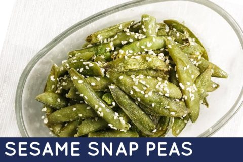 This recipe for Sesame Snap Peas is easy and delicious. Sesame Snap Peas makes the perfect side dish for any meal!