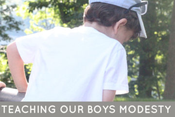 What are the keys to teaching our boys modesty - how should it be done?Read this Jewish parenting tips article and get inspired!