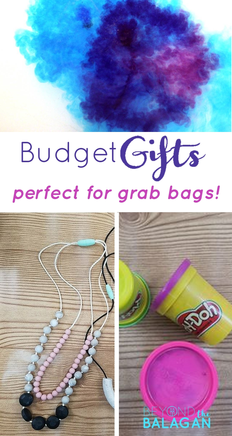 This list of budget gifts is perfect for grab bag parties! Complete all your Chanukah shopping with this budget gifts list!
