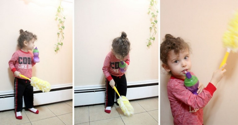 These nine ideas will help you teach and encourage your child to clean up. Your children can clean up after themselves and do their chores!