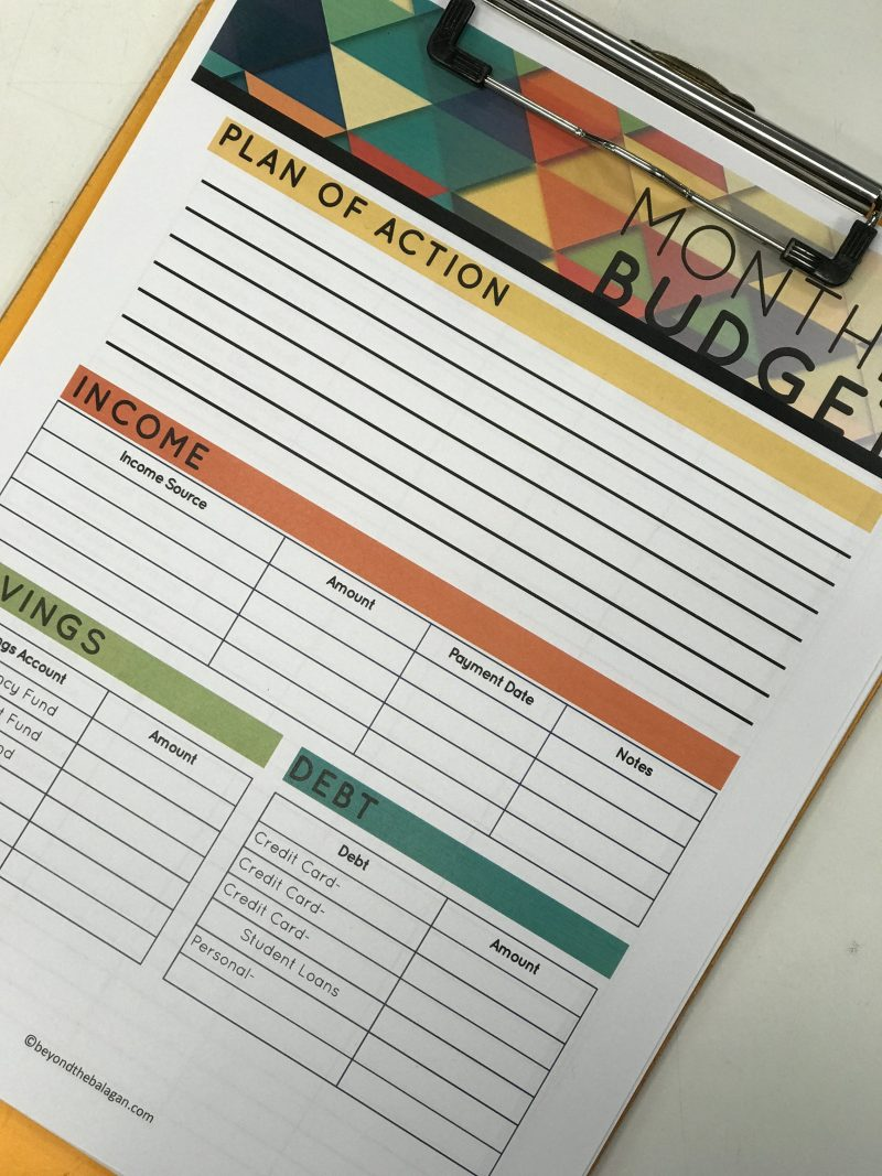 This Jewish budgeting free printable template is designed with the frum family in mind. Check out these tips specifically for Jewish budgeting.