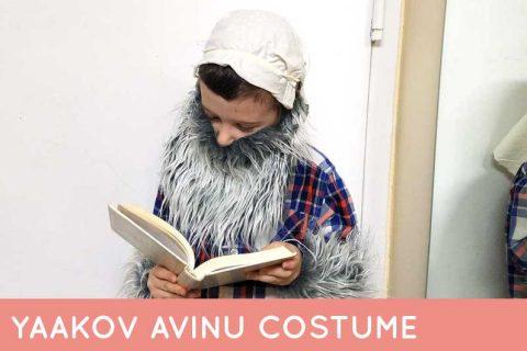 An adorable costume of Yaakov Avinu #jewish #purim #diycostume