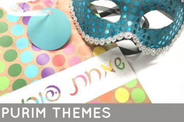 Purim is exciting- and pricey, so keep your Purim themes on a budget with these fun ideas. Find mishloach manos and costume ideas while making Purim themes on a budgets. #Purim #MishloachManot #Hamantaschen