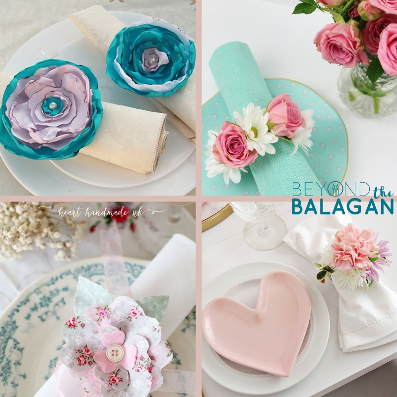 Diy flower napkin rings 10 beyond the balagan diy flower napkin rings perfect for shavuot mightylinksfo
