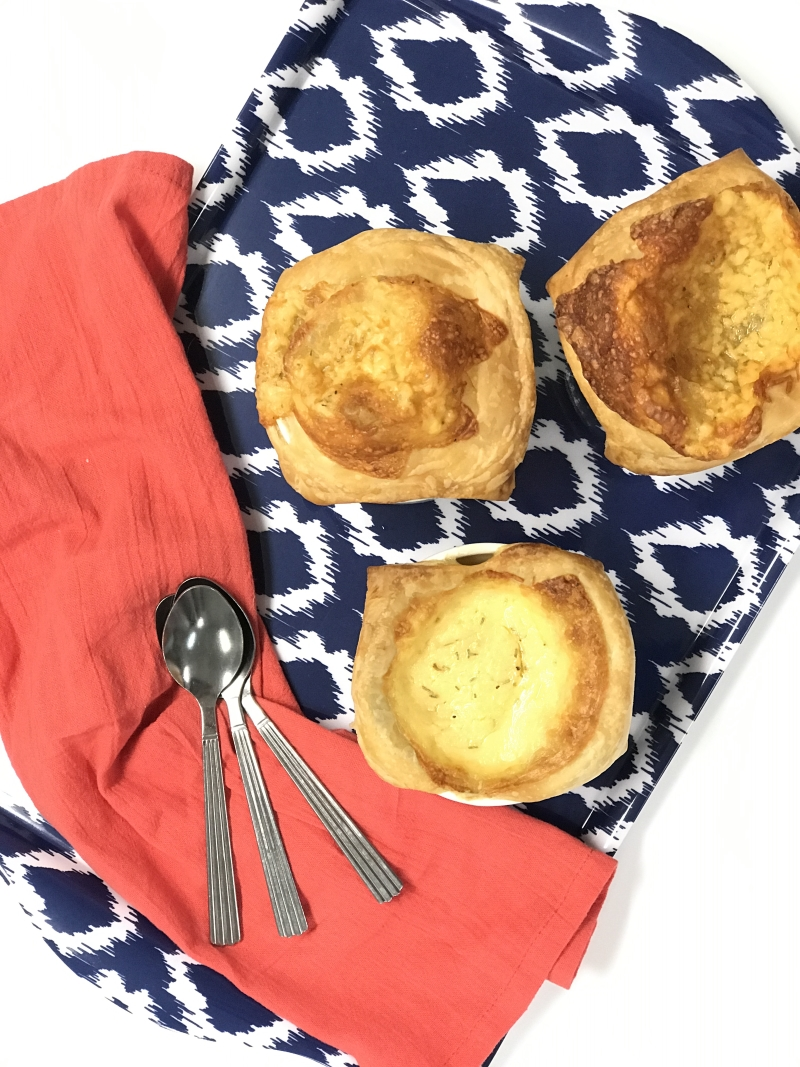 classic onion soup with cheesy pastry crust