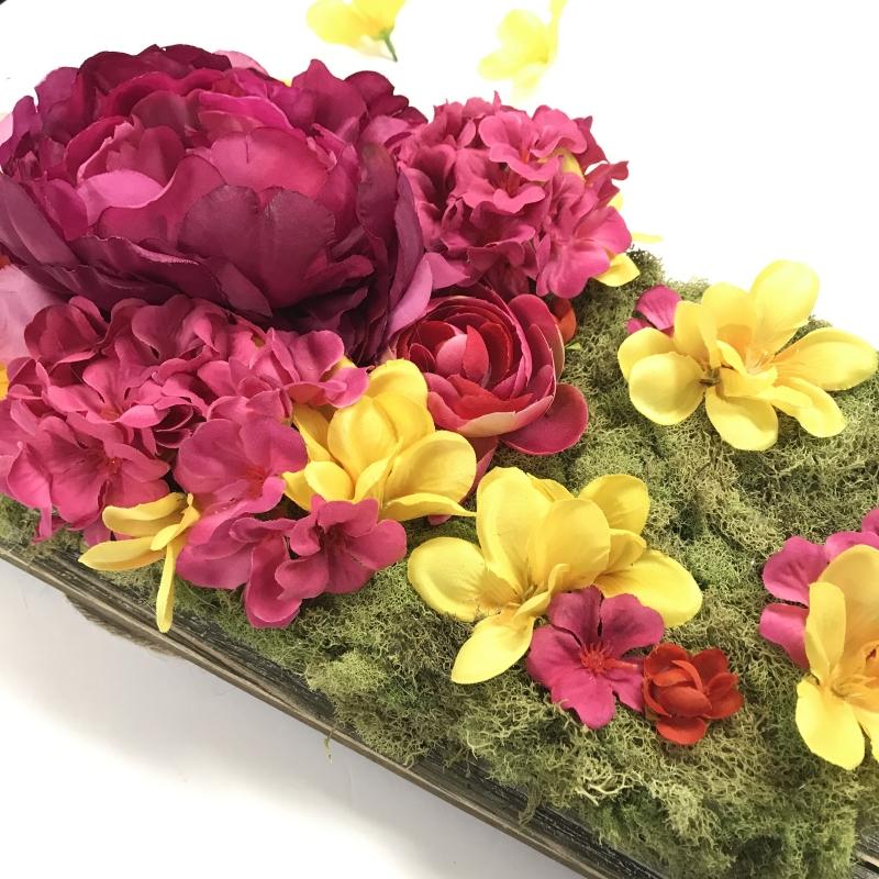 DIY Silk Flower Centerpiece