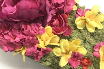 DIY Silk Flower Centerpiece
