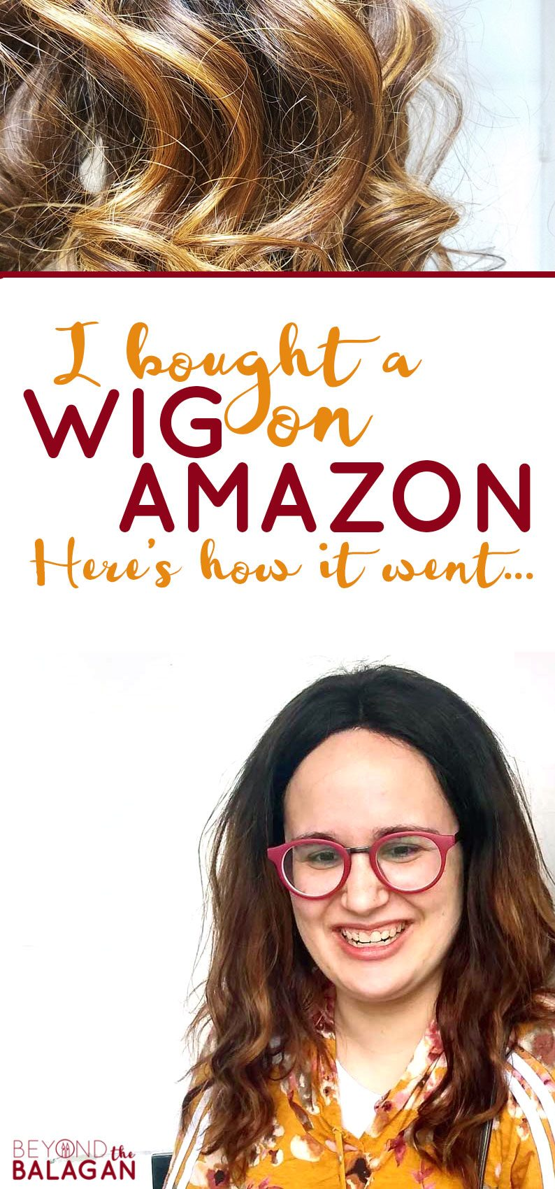 Click to see how my Amazon wig-buying experience went! If you wear wigs and want to know how to buy a cheap Chinese human hair wig, read my Amazon wigs review to see what I liked and what I didn't about the Amazon wig I purchased.