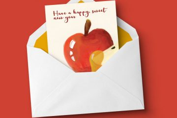 Download these free printable rosh hashanah cards - these fun free printable rosh hashanah greeting cards are perfect for the Jewish New Year!