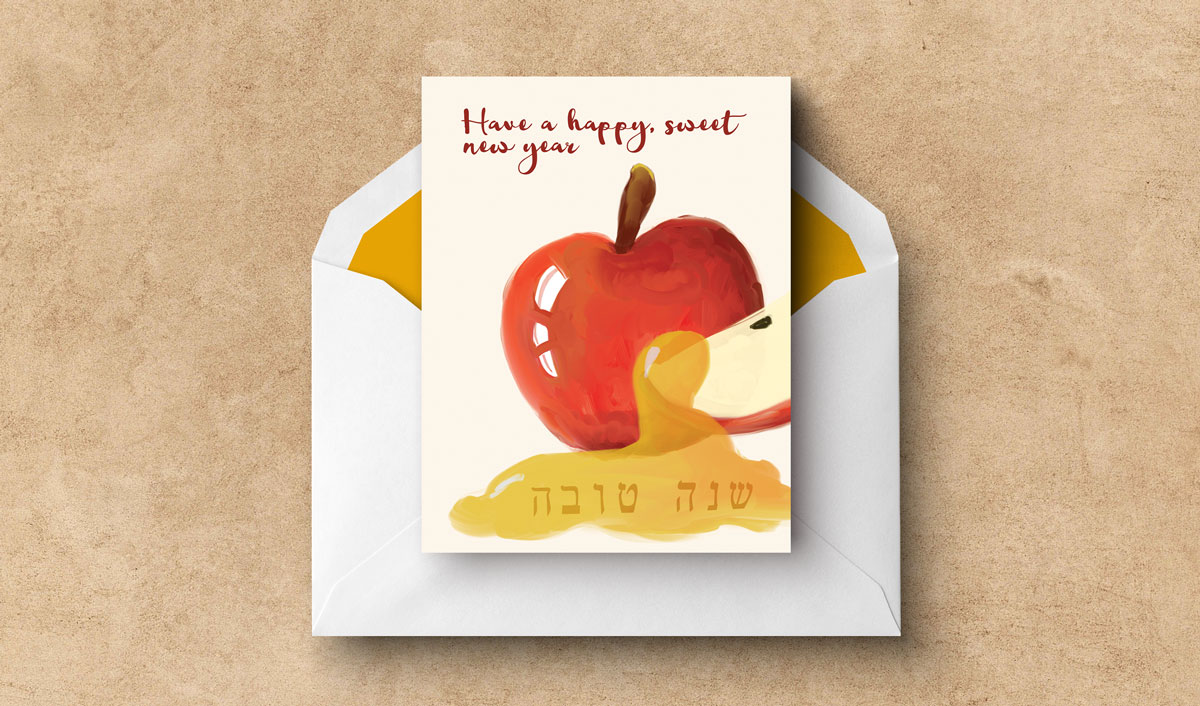 photo relating to Rosh Hashanah Greeting Cards Printable called Rosh Hashanah Playing cards - Absolutely free Printable Greeting Playing cards for the