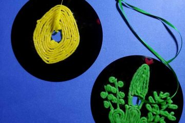 Make these cool cheap sukkah decorations crafts with kids
