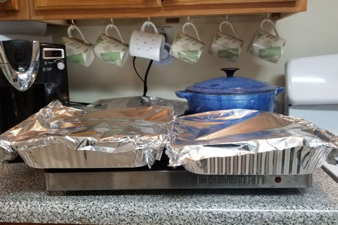 Capacity of the Chefman shabbat hot plate