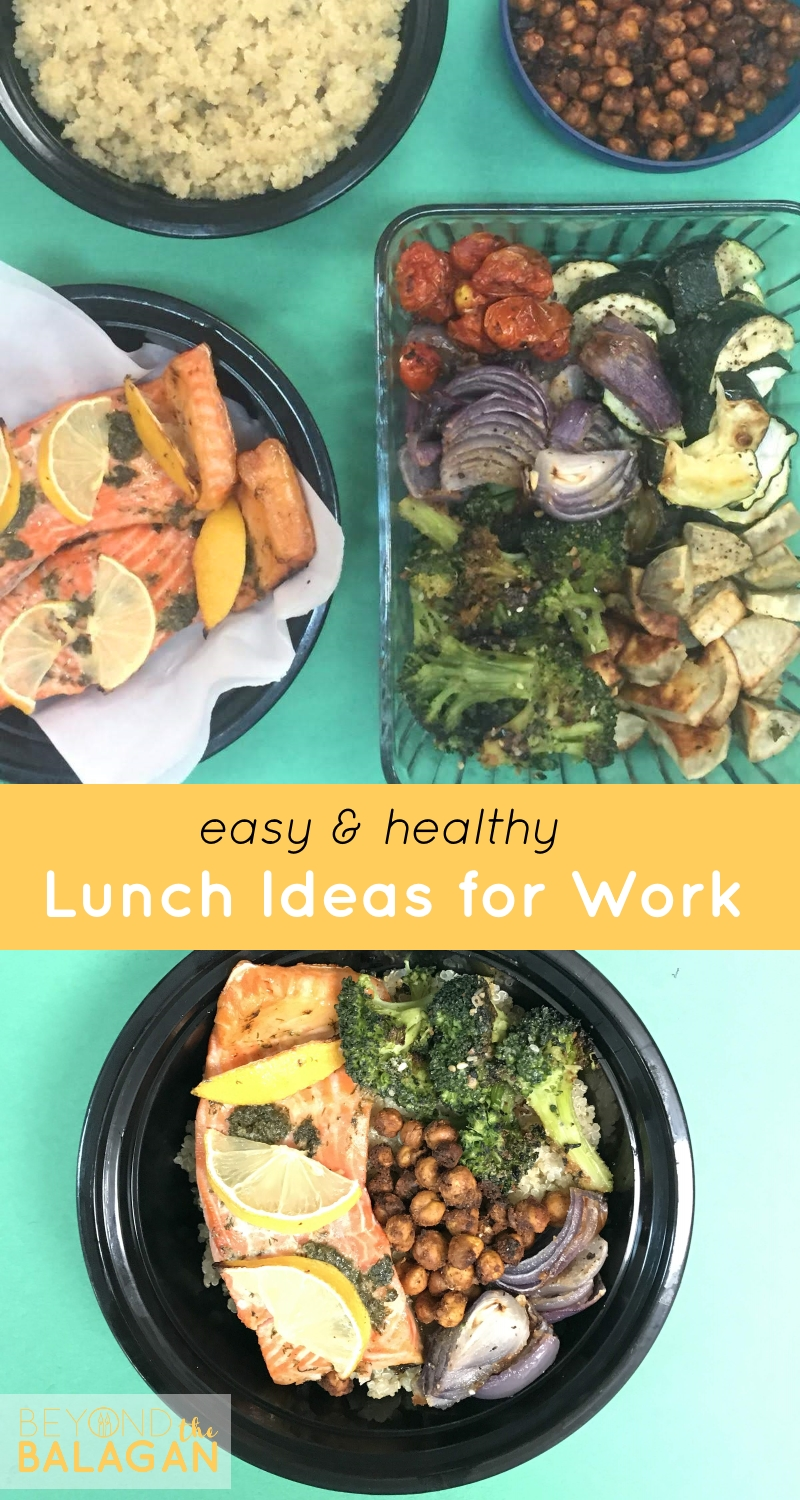 Easy & Healthy Lunch Ideas for Work