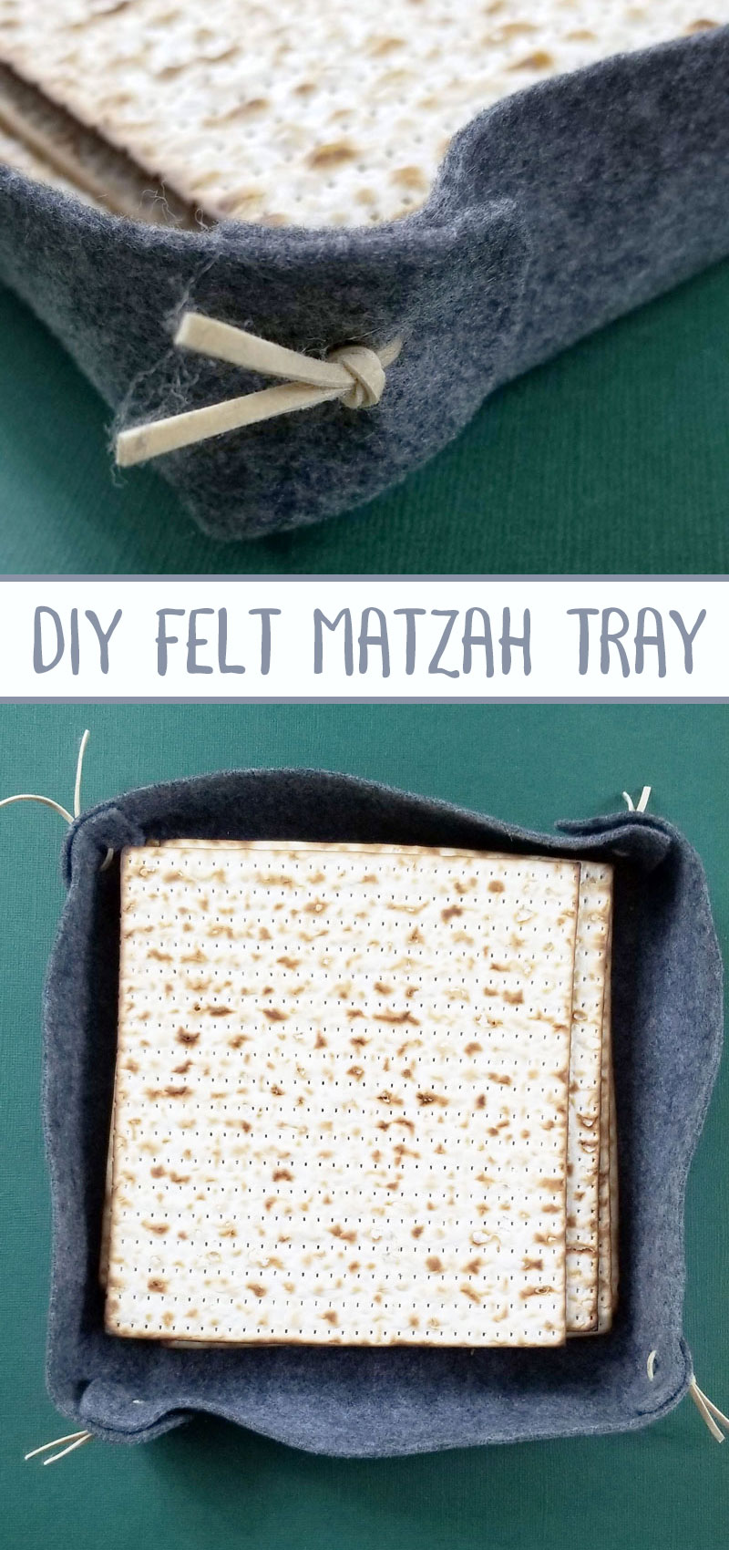 Make your own matzah tray or plate for the passover seder! One of my favorite DIY Pesach seder table decorations and ideas